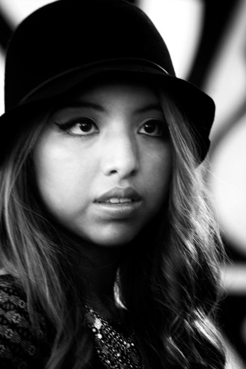 Black hat pink lip 900 nwm B&W_edited-1
